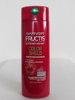 Шампунь Fructis Color shield GARNIER  370 мл USA